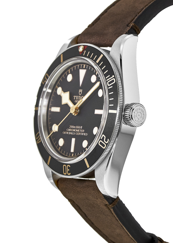 Tudor Black Bay Fifty-Eight Black Dial Brown Leather Men s Watch M79030N- 0002. Tap to expand 3f3dacd1e3