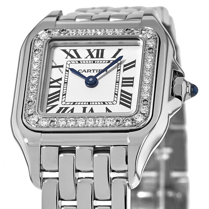 best service 5d062 ae280 Cartier Panthere de Cartier Diamond Bezel Women's Watch W4PN0007