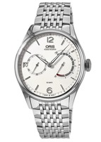 Oris Artelier Calibre 111 Stainless Steel Men's Watch 01 111 7700 4031-Set 8 23 79