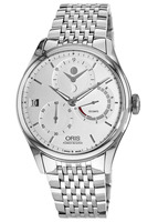 Oris Artelier Calibre 112 Silver Dial Stainless Steel Men's Watch 01 112 7726 4051-Set 8 23 79