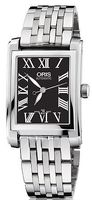 Oris Rectangular Date  Women's Watch 01 561 7656 4074-07 8 17 82