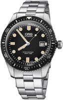Oris Divers Sixty- Five Black Dial Stainless Steel Men's Watch 01 733 7720 4054-07 8 21 18
