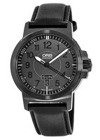 Oris BC3 Advanced Day Date Black Plated Steel Men's Watch 01 735 7641 4764-07 5 22 56B