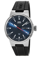 Oris Williams F1 Team Day Date Blue Dial Black Rubber Men's Watch 01 735 7716 4155-07 4 24 50