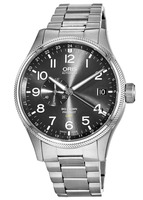Oris Big Crown ProPilot GMT Small Second Grey Dial Stainless Steel Men's Watch 01 748 7710 4063-07 8 22 19