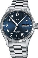 Oris Big Crown ProPilot Day Date Blue Dial Stainless Steel Men's Watch 01 752 7698 4065-07 8 22 19