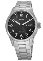 Oris Aviation Limited Edition Black Dial Stainless Steel Men's Watch 01 752 7698 4194-Set MB