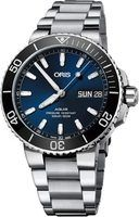 Oris Aquis Big Day Date Blue Dial Stainless Steel Men's Watch 01 752 7733 4135-07 8 24 05PEB