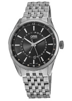 Oris Artix Pointer Moon Black Dial Steel Men's Watch 01 761 7691 4054-07 8 21 80