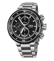 Oris ProDiver Chronograph 51mm Titanium Men's Watch 01 774 7727 7154- Set