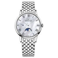 Zenith Elite Lady Moonphase Mother of Pearl Dial Stainless Steel Women's Watch 03.2320.692/81.M2320
