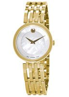 Movado Esperanza  Mother Of Pearl Dial Two-Tone Steel Women's Watch 0607054