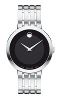 Movado Esperanza  Steel & Gold Tone Black Dial Men's Watch 0607057