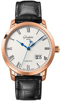 Glashutte Original Quintesssentials Senator  Panrama Date  Men's Watch 100-03-32-45-04