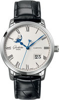 Glashutte Original Quintesssentials Senator  Panrama Date  Moonphase  Men's Watch 100-04-32-12-04