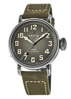 Zenith Pilot Montre d'Aeronef Type 20 Extra Special Limited Edition Khaki Men's Watch 11.1943.679/63.C800