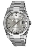 Rolex Datejust 36  Silver Dial Stainless Steel Unisex Watch 116200-SIGRYSO-PO