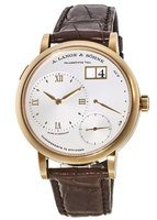 A. Lange & Sohne Grand Lange  1 40.9MM 18K Rose Gold Silver Dial Men's Watch 117.032