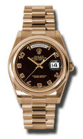 Rolex Day-Date   Men's Watch 118205-BKAPR