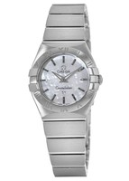 Omega Constellation Brushed Quartz 24mm  Women's Watch 123.10.24.60.05.001