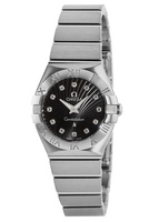 Omega Constellation Brushed Quartz 24mm  Women's Watch 123.10.24.60.51.001