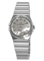 Omega Constellation Polished Quartz 27mm  Women's Watch 123.10.27.60.02.002