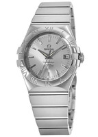 Omega Constellation Automatic Chronometer 35mm Silver Dial Men's Watch 123.10.35.20.02.001