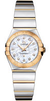 Omega Constellation Polished Quartz 24mm  Women's Watch 123.20.24.60.55.004