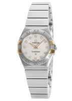 Omega Constellation Brushed Quartz 24mm  Women's Watch 123.20.24.60.55.005