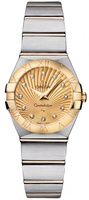 Omega Constellation Brushed Quartz 24mm  Women's Watch 123.20.24.60.58.001