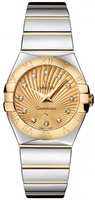 Omega Constellation Polished Quartz 27mm  Women's Watch 123.20.27.60.58.002