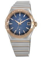 Omega Constellation Automatic Chronometer 38mm Steel and Rose Gold Men's Watch 123.20.38.21.03.001