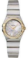 Omega Constellation Brushed Quartz 24mm  Women's Watch 123.25.24.60.52.002