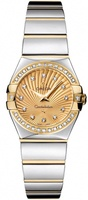 Omega Constellation Polished Quartz 24mm  Women's Watch 123.25.24.60.58.002