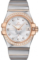 Omega Constellation Automatic Chronometer 35mm  Men's Watch 123.25.35.20.52.001
