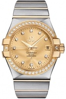 Omega Constellation Automatic Chronometer 35mm  Men's Watch 123.25.35.20.58.001