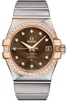 Omega Constellation Automatic Chronometer 35mm  Men's Watch 123.25.35.20.63.001