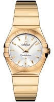 Omega Constellation Polished Quartz 27mm  Women's Watch 123.50.27.60.02.004