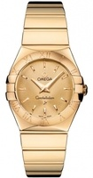 Omega Constellation Polished Quartz 27mm  Women's Watch 123.50.27.60.08.002