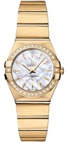 Omega Constellation Brushed Quartz 24mm  Women's Watch 123.55.24.60.55.004