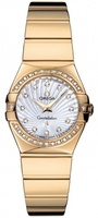 Omega Constellation Polished Quartz 24mm  Women's Watch 123.55.24.60.55.007