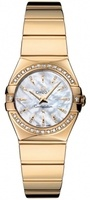 Omega Constellation Polished Quartz 24mm  Women's Watch 123.55.24.60.55.008