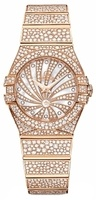 Omega Constellation Luxury Edition  Women's Watch 123.55.24.60.55.009