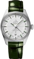 Omega Constellation  Green Leather Band Men's Watch 130.93.41.22.99.002