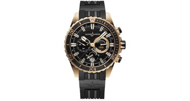 Ulysse Nardin Diver Chronograph  Men's Watch 1502-151-3C/92