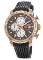 Chopard Mille Miglia Automatic Chronograph 2013 Edition 18k Rose Gold Rubber Strap Men's Watch 161292-5001