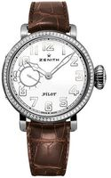 Zenith Pilot Montre d'Aeronef Type 20  Diamond dial Women's Watch 16.1930.681/31.C725