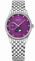 Zenith Elite  Ultra Thin Moonphase Purple Dial Women's Watch 16.2310.692/92.M2310