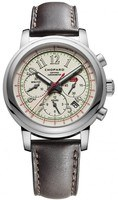 Chopard Classic Racing Mille Miglia White Dial Brown Leather Limited Edition Men's Watch 168511-3036