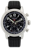 Chopard Classic Racing Mille Miglia Black Dial Black Rubber Men's Watch 168589-3002
